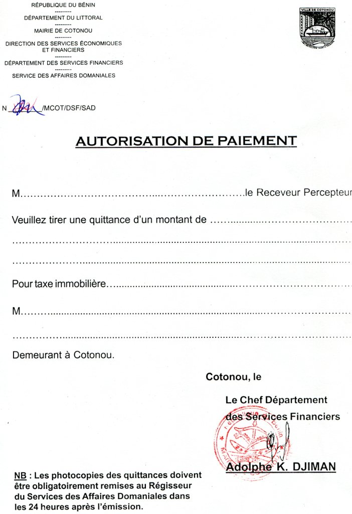 Attestation Loyer  Als Caf
