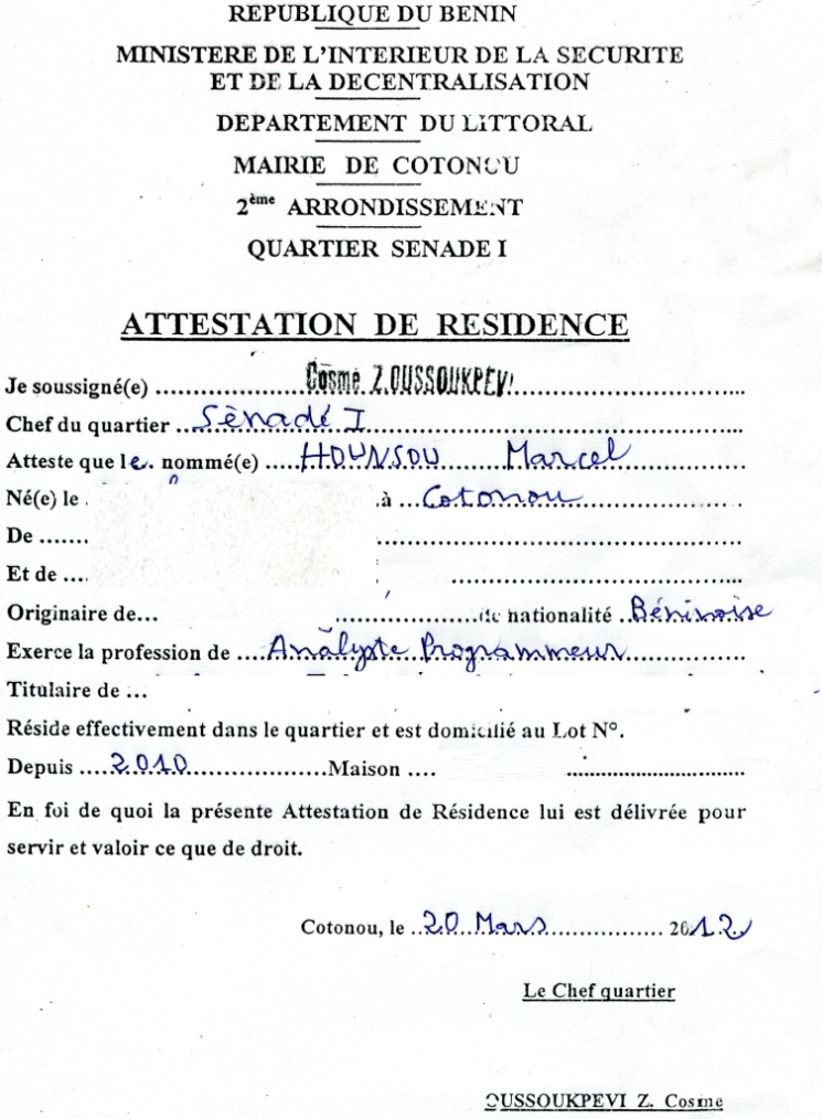 Attestation De Loyer Demand Ef Bf Bd Par La Caf