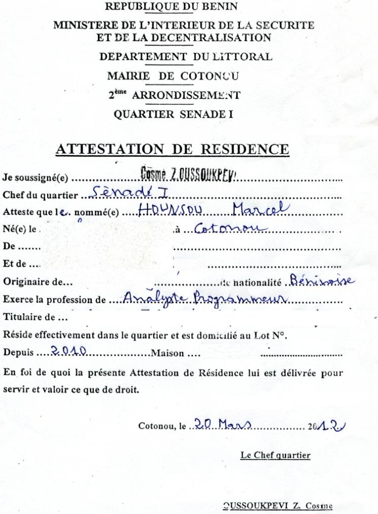 Attestation De Fiscal Des Tickets Restaurants
