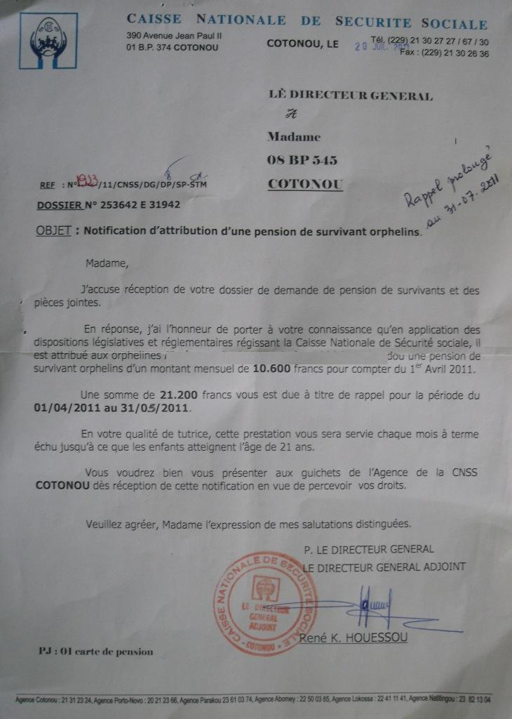 Eregulations Benin